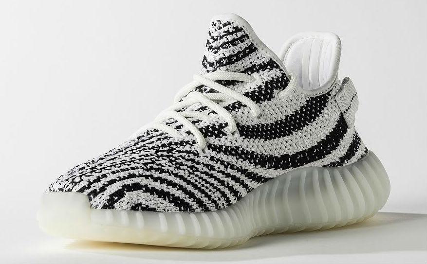 Adidas Yeezy 350 Boost V2 Zebra Release Date Medial CP9654