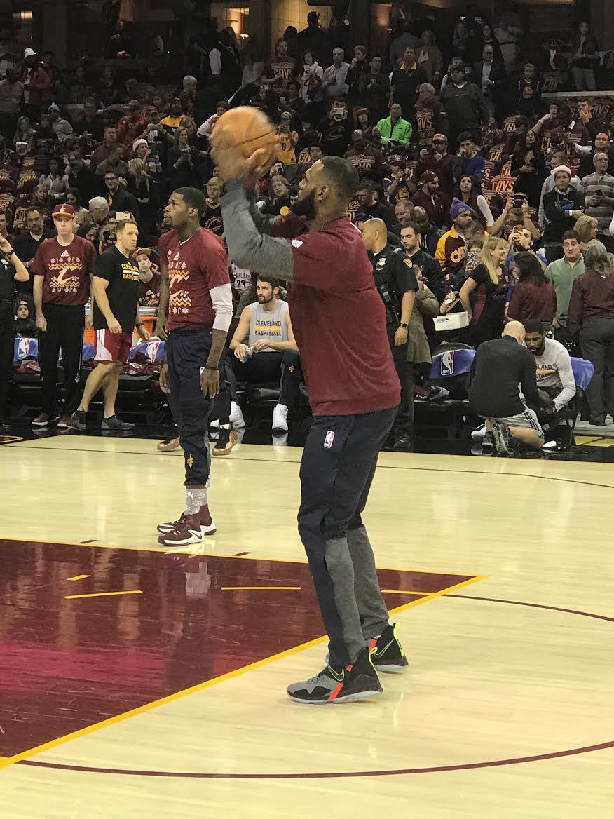 LeBron James Nike LeBron 14 (1)