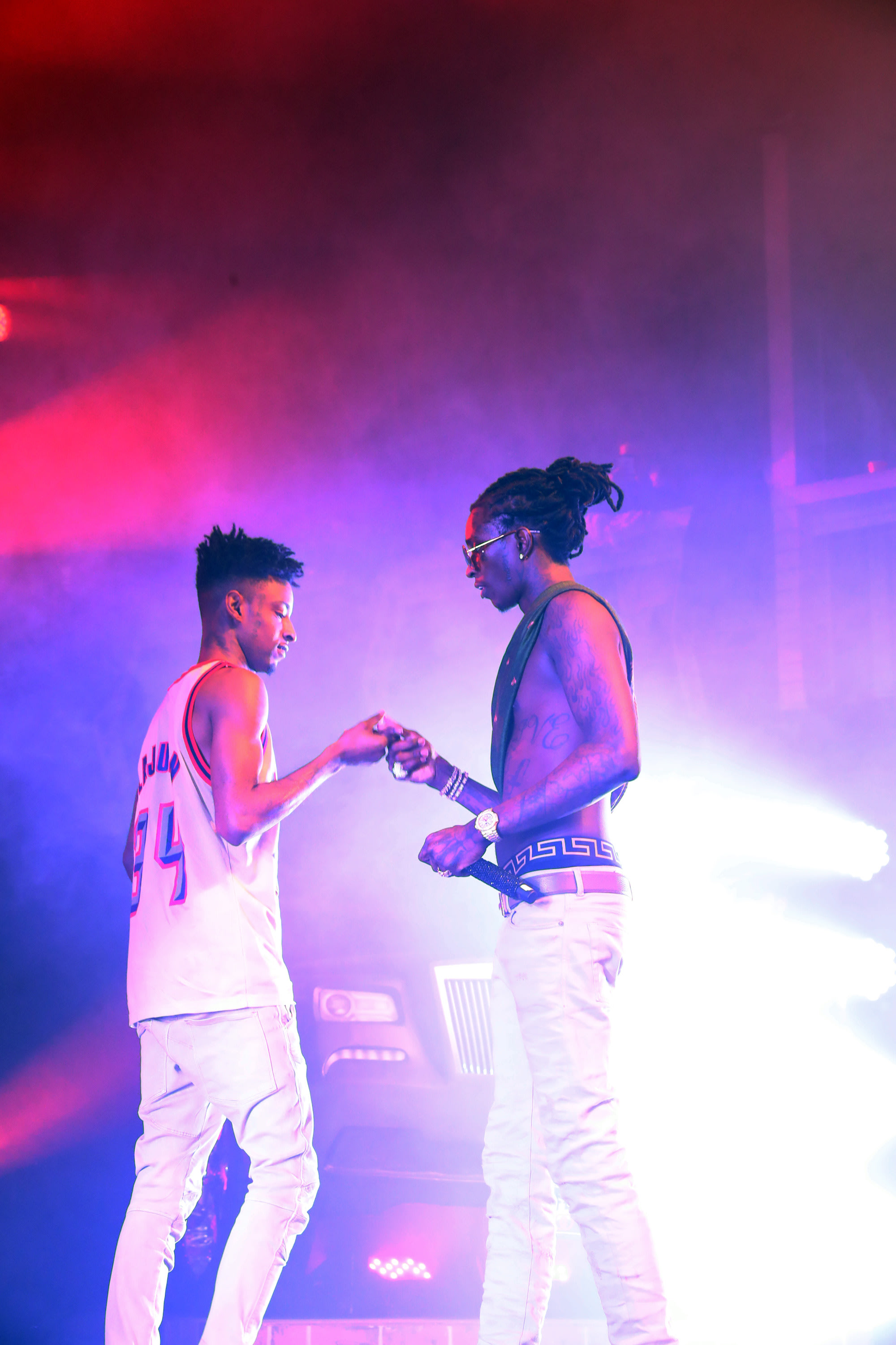 Young Thug and 21 Savage