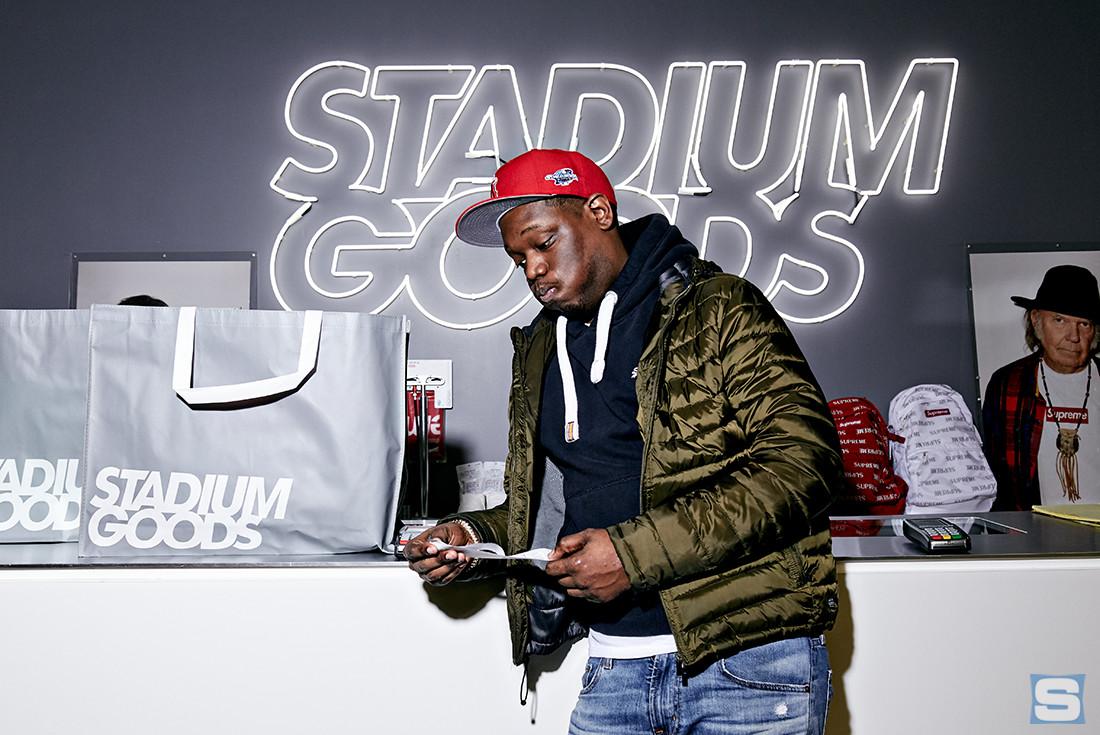 Michael Che at Stadium Goods