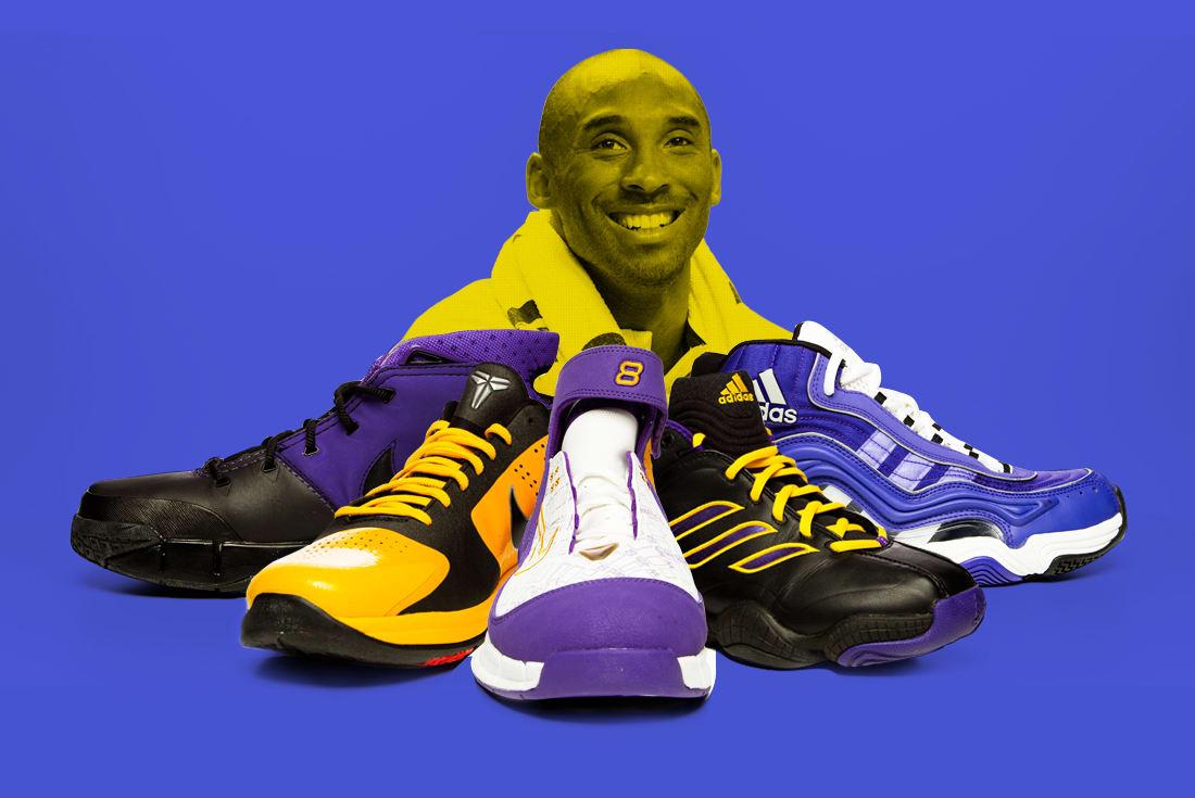 on sale b2337 de4fa Kobe Bryant Signature Sneaker Design Evolution   Complex