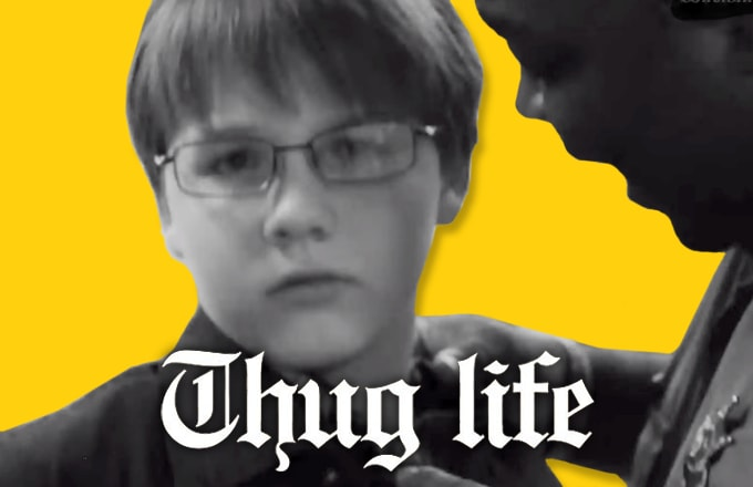 The #UnexpectedThugLife Meme Will Remind You Why It Feels Good to Be a Gangsta