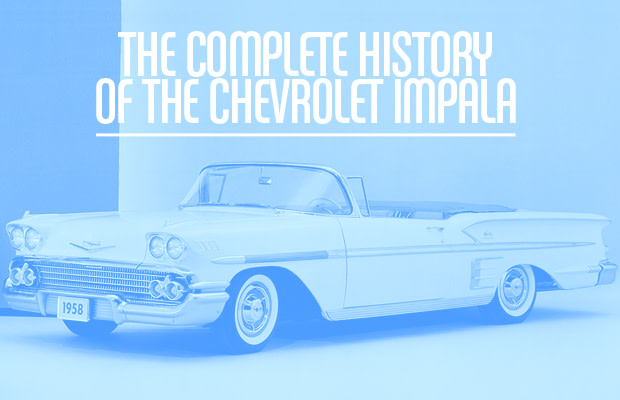 The Complete History of the Chevrolet Impala1964