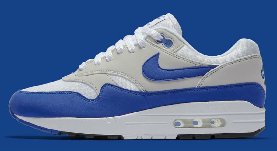 medallista cáncer Intensivo  Nike Air Max 1 OG Anniversary Red Blue Release Date 908375-100 | Sole  Collector