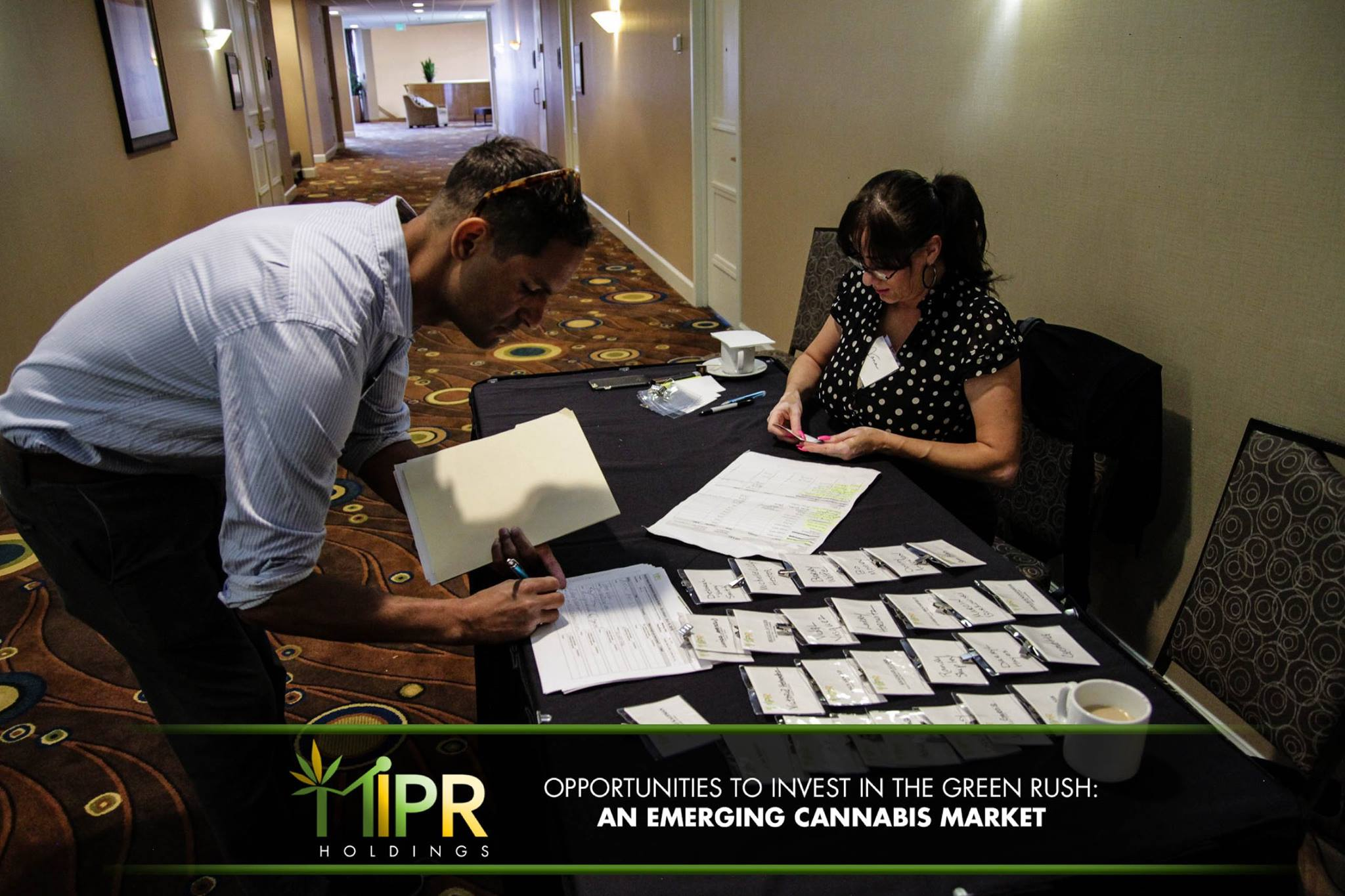 Let s look at it from an investment prospective if a company had - Mipr Conference Sign Up