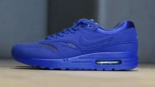 nike air max 1 all blue