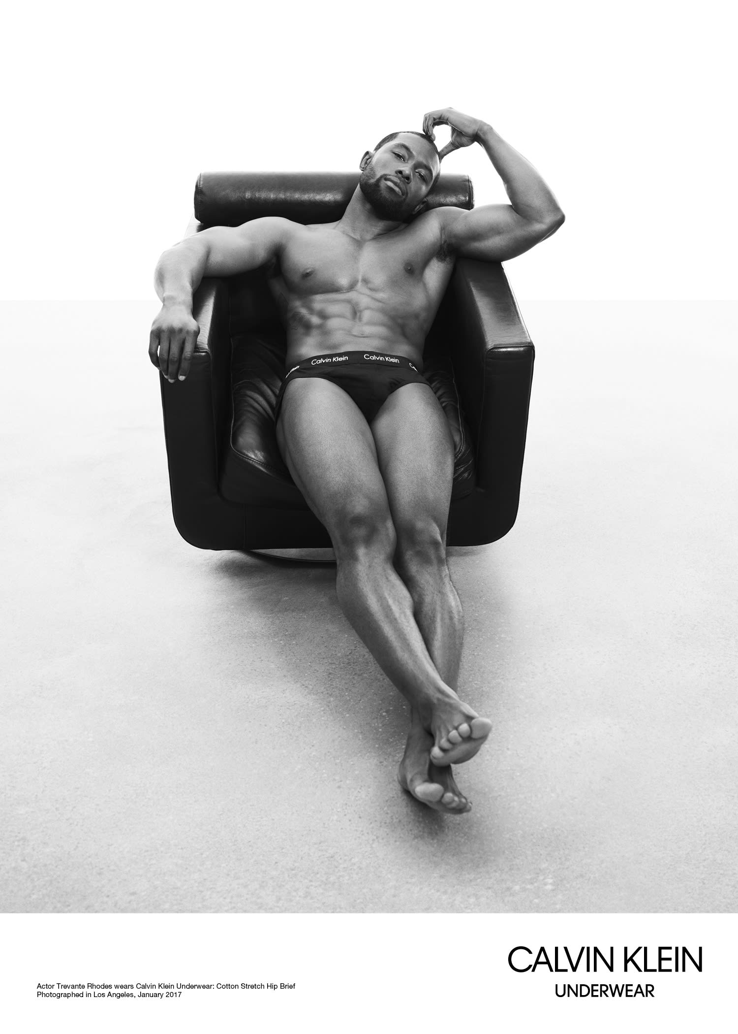 Trevante Rhodes for Calvin Klein