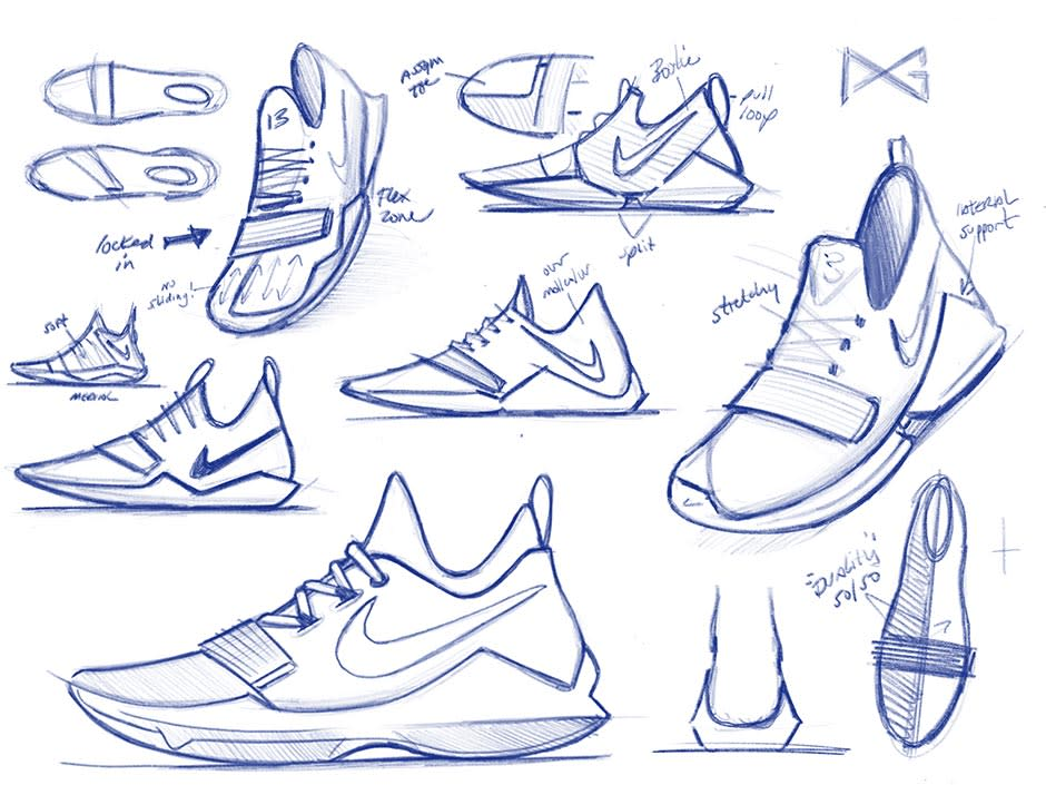 Nike PG1 Sketches