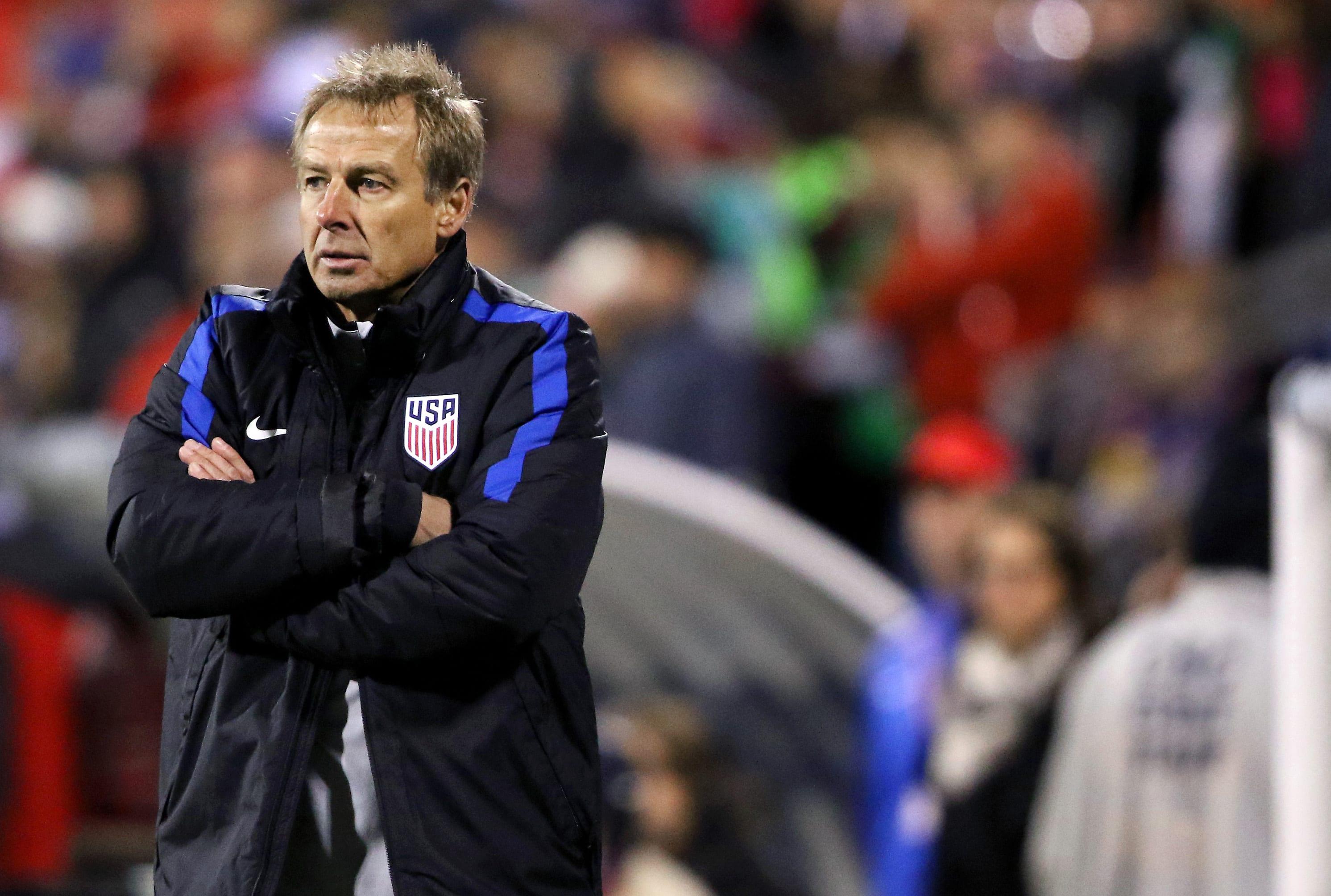 Jurden Klinsmann USMNT Mexico 2016