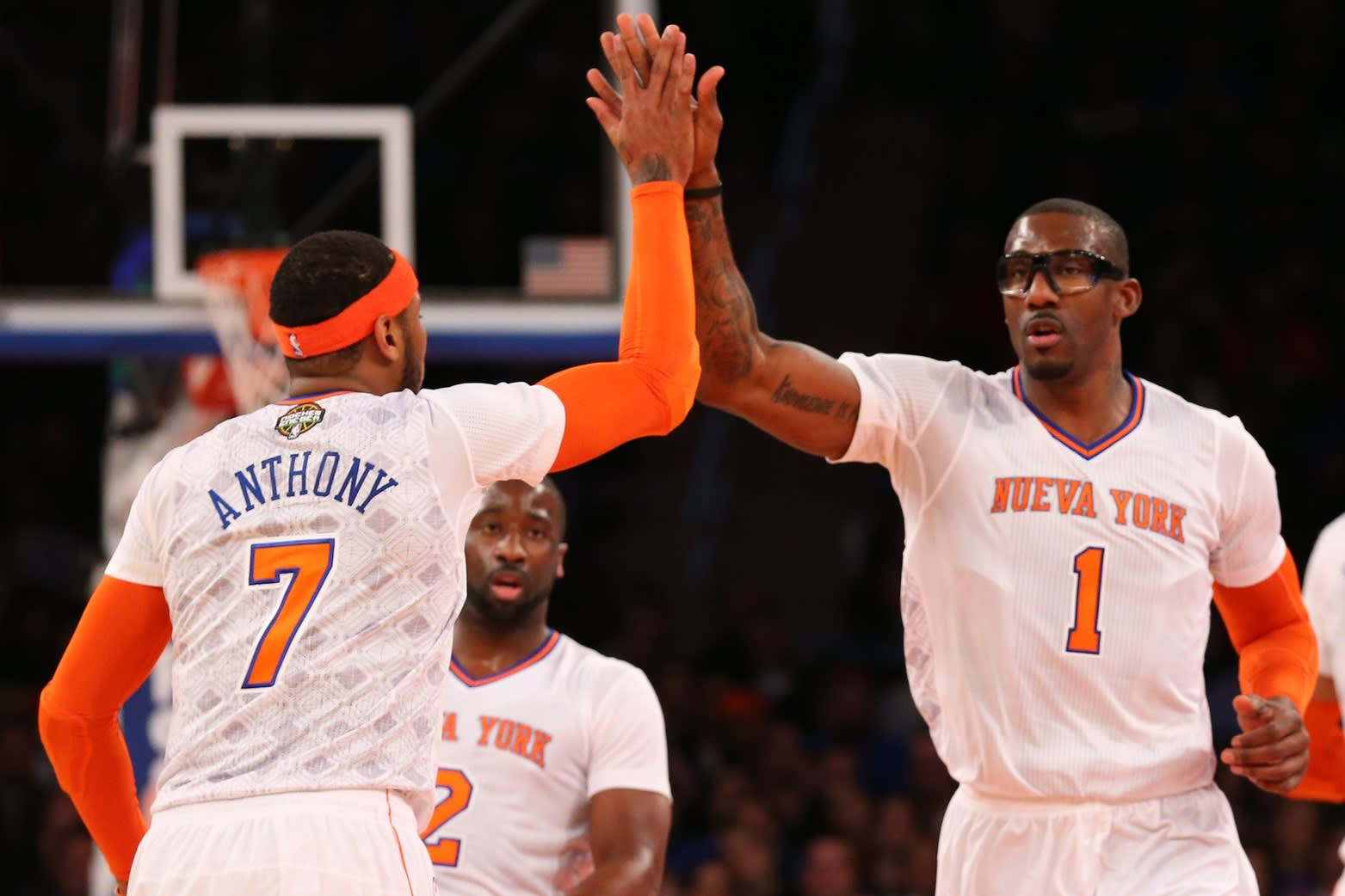 Carmelo Anthony & Amar'e Stoudemire