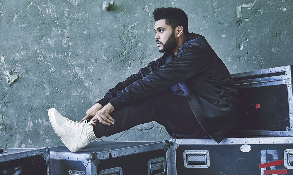 The Weeknd Stars in PUMA's New