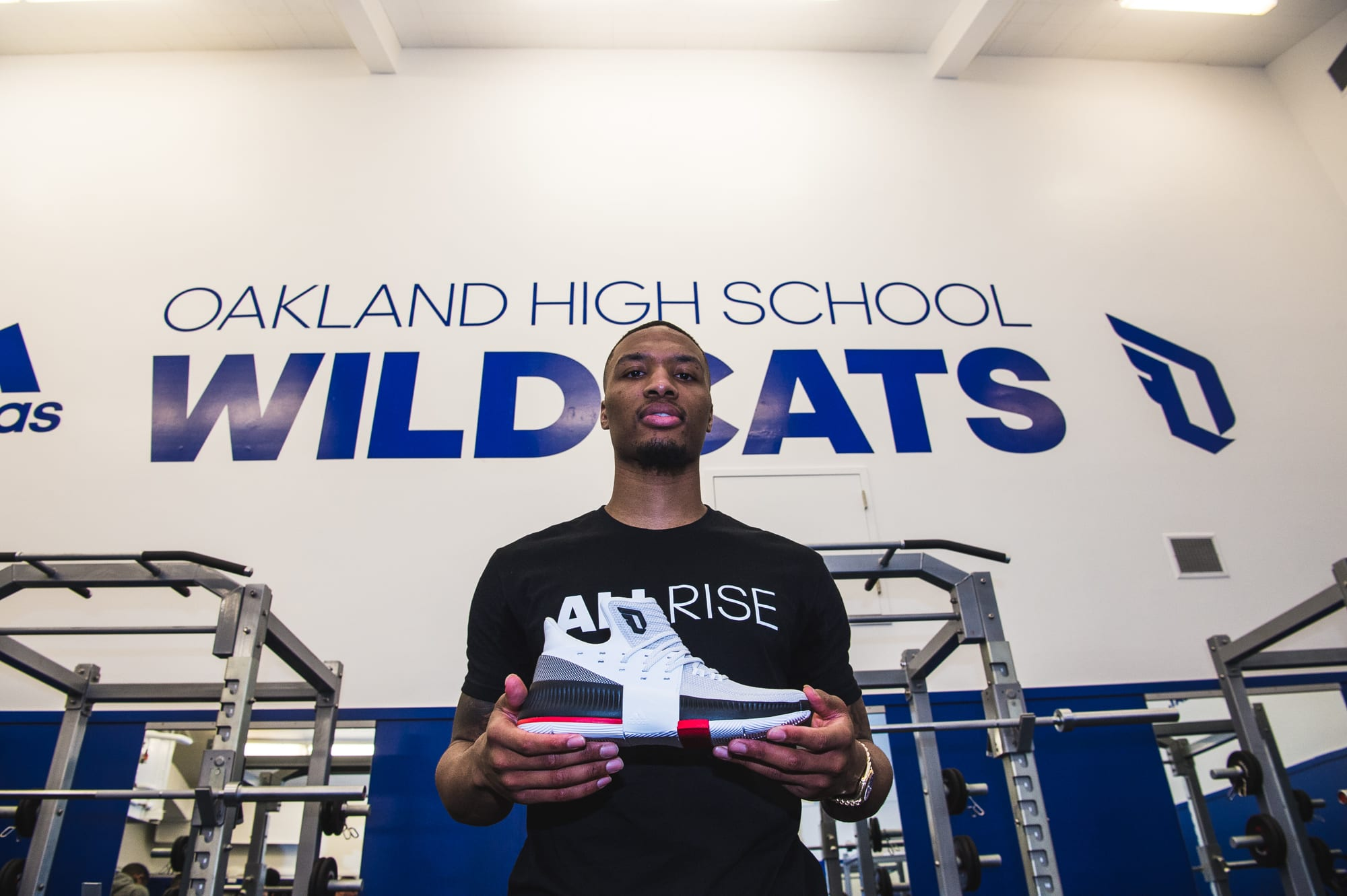 Damian Lillard Oakland High School