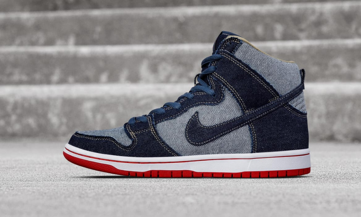 Reese Forbes Denim Dunk Hi