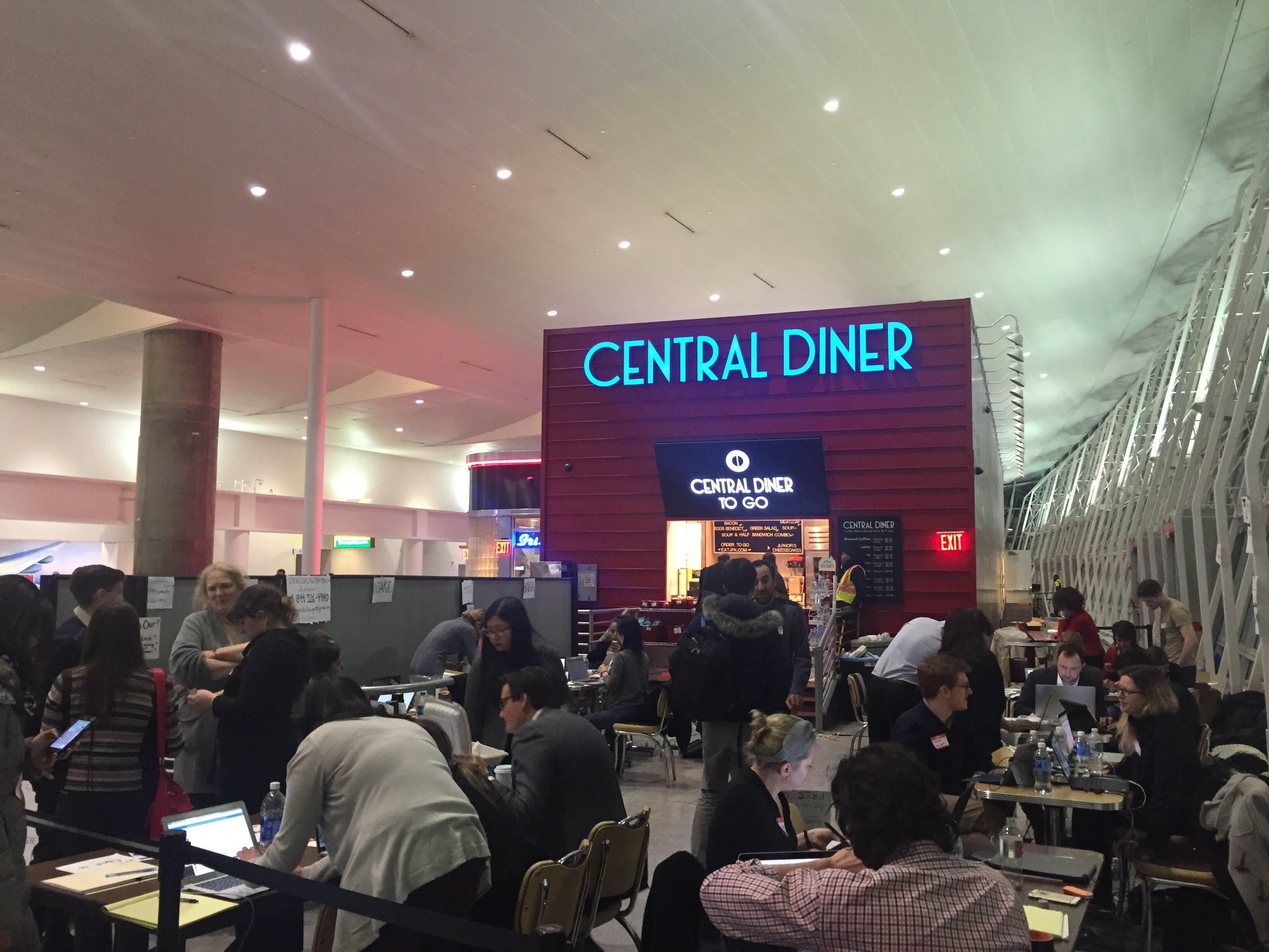 attornerys at jfk central diner