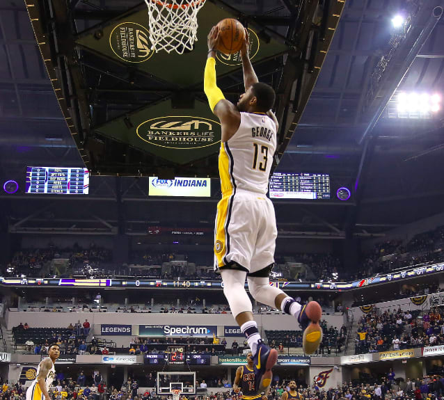 Paul George Dunk