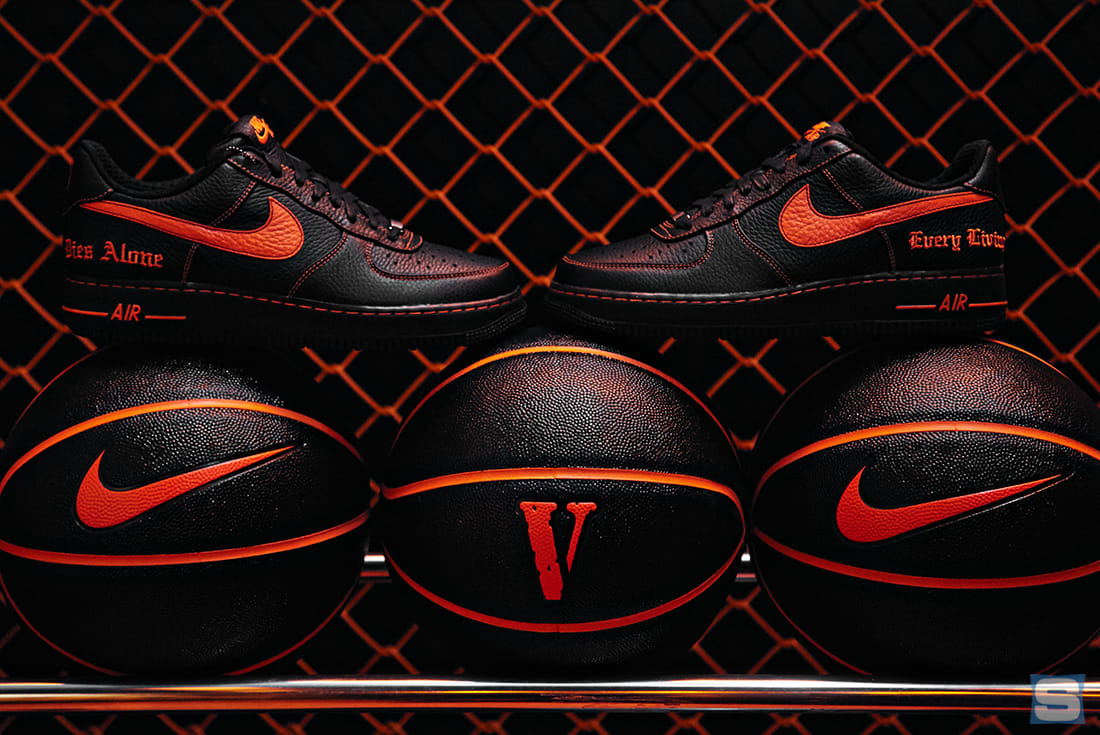 Us Auto Force >> Vlone Nike Air Force 1 Release Harlem | Sole Collector
