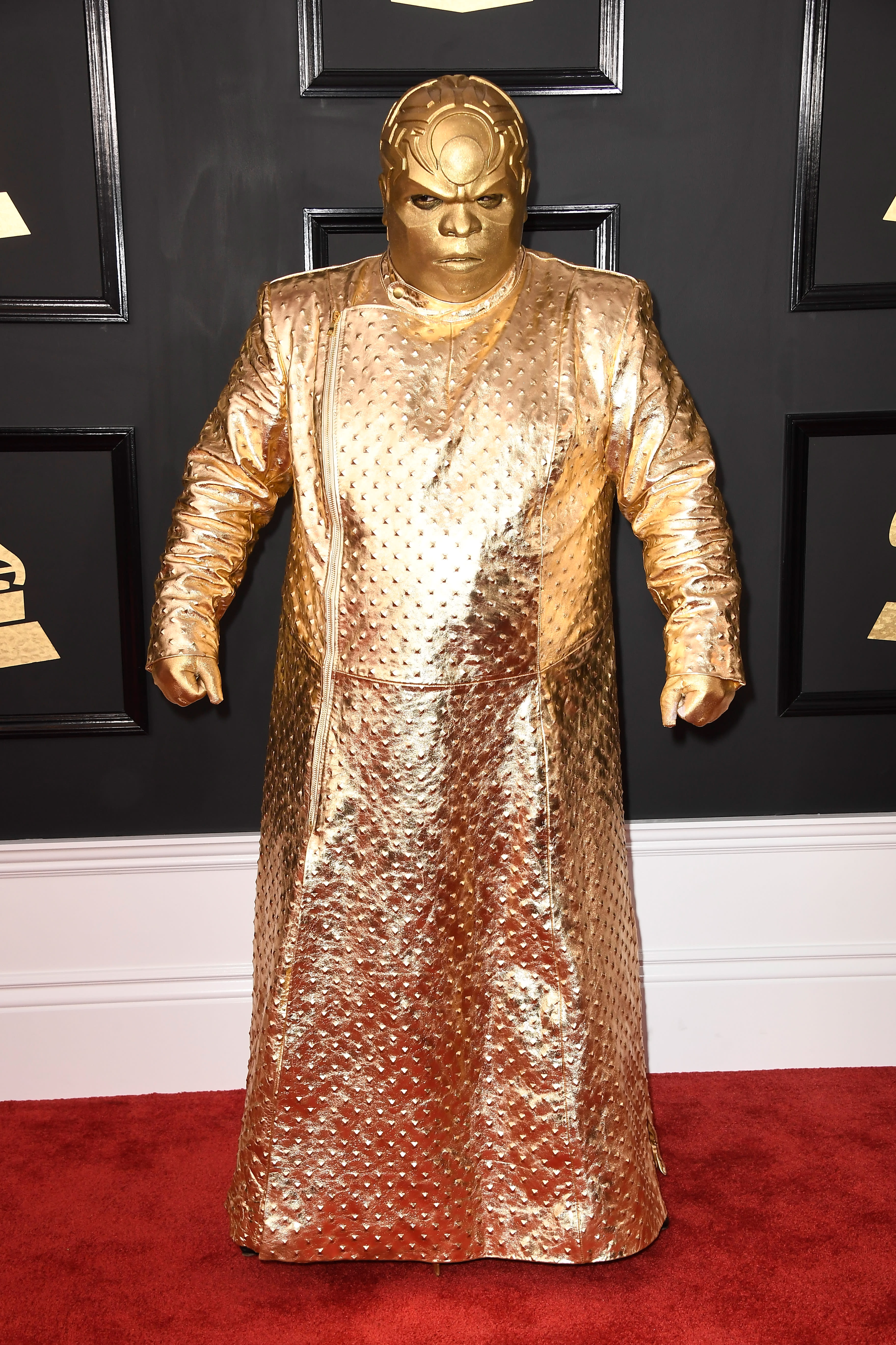 Green In ceelo green comments on the gold costume he wore to the