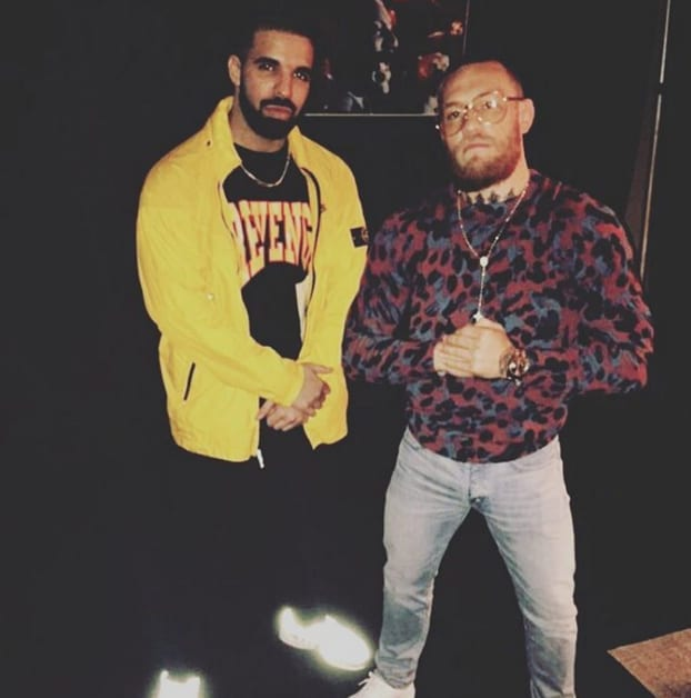 Drake and Conor McGregor