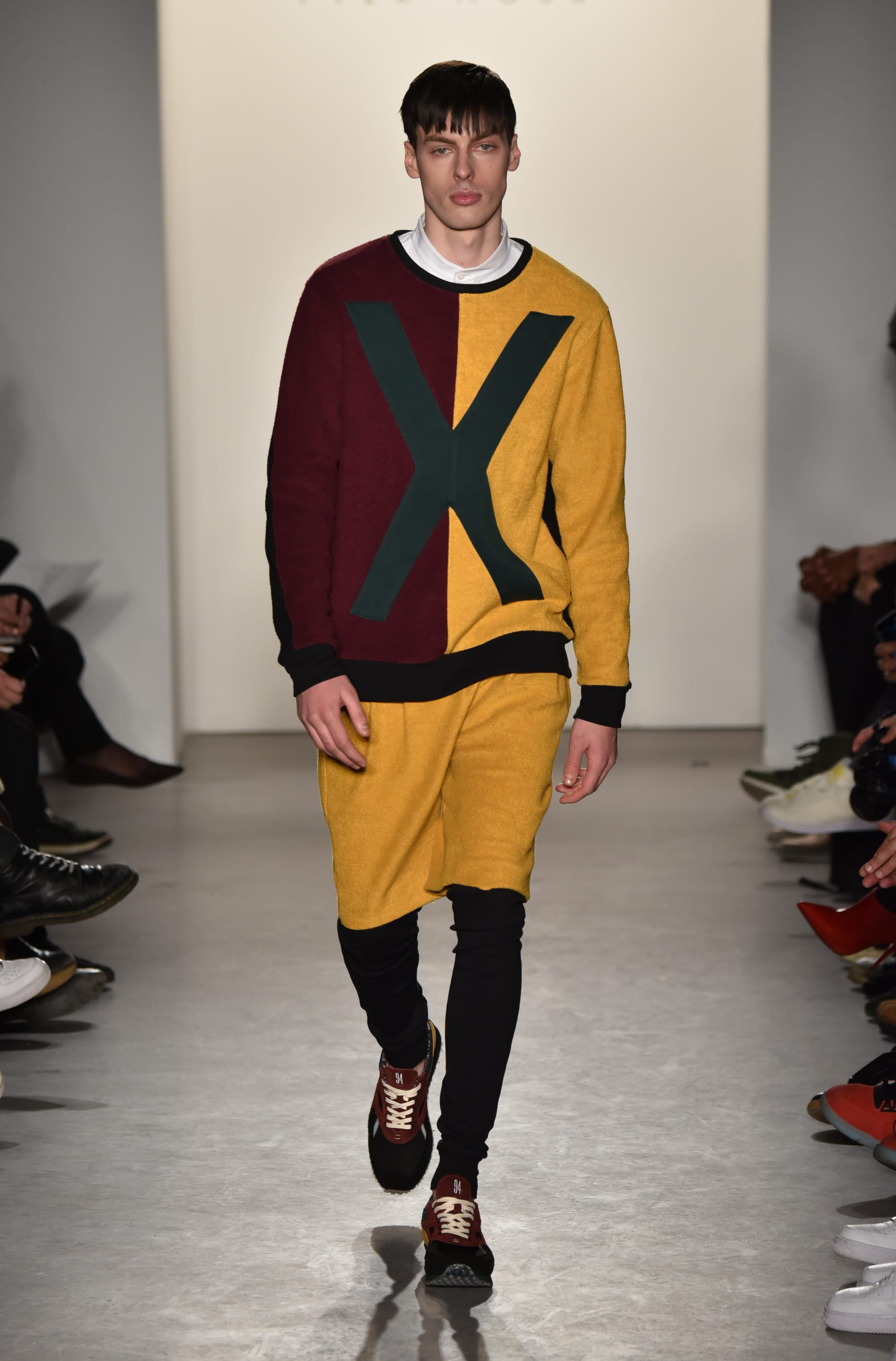 A look from Pyer Moss' Fall 2015 collection