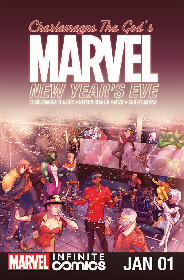 Charlamagne Tha God's Marvel New Year's Eve