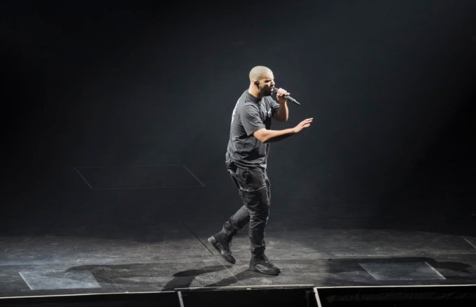 Drake Wearing OVO Air Jordan 12s