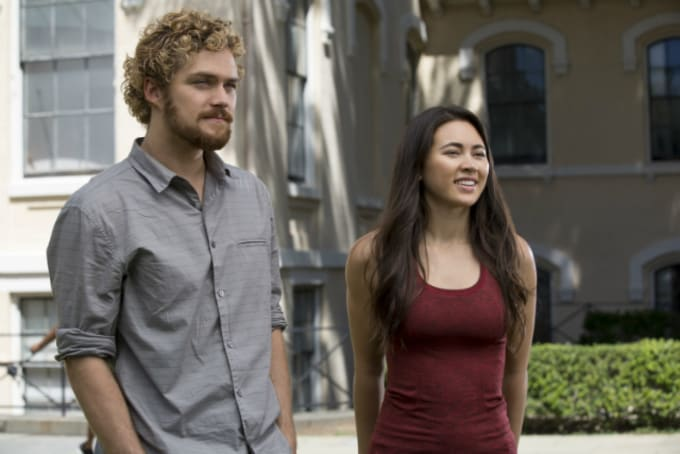 Finn Jones and Jessica Henwick in 'Marvel's Iron Fist'