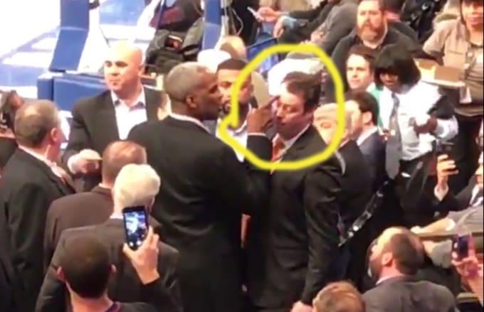 Charles Oakley Knicks Fight
