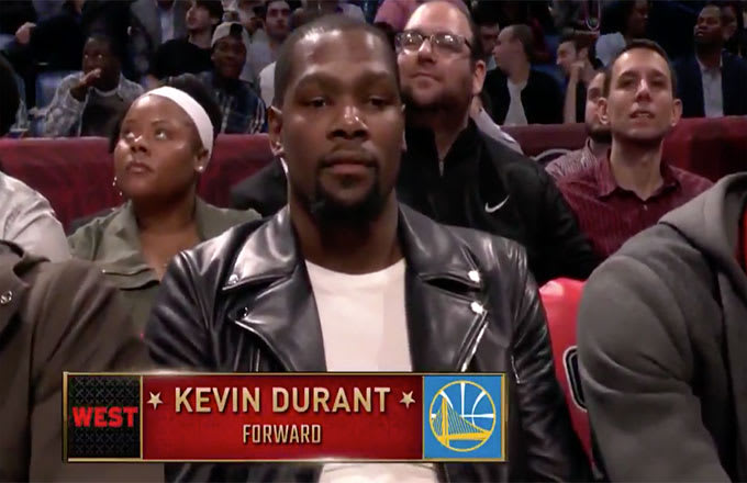 kevin durant all star