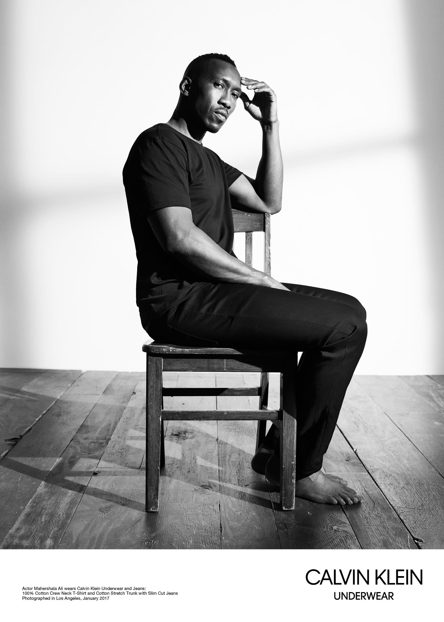 Mahershala Ali for Calvin Klein
