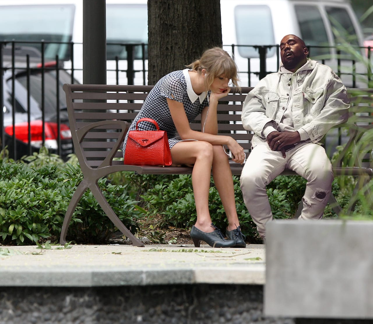 Sad Taylor and Sleepy Kanye