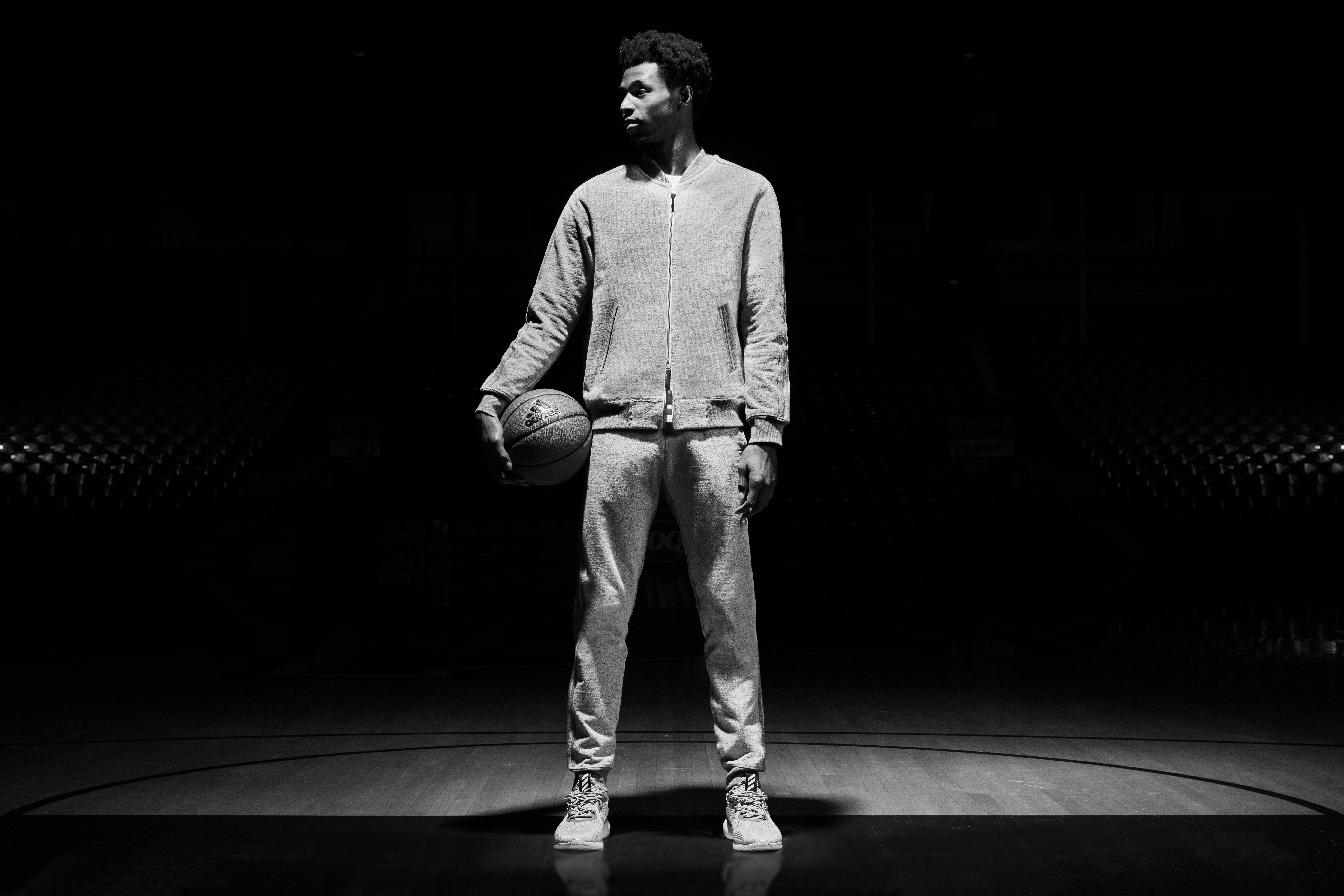 Andrew Wiggins Stars In The adidas x Reigning Champ 'Made In Canada' Campaign