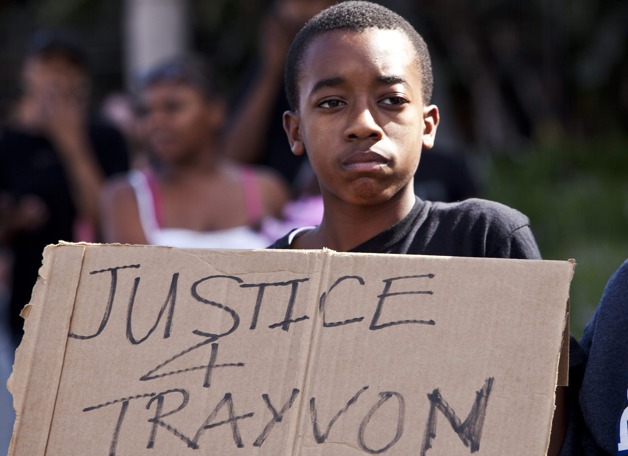south LA protest of Zimmerman acquittal