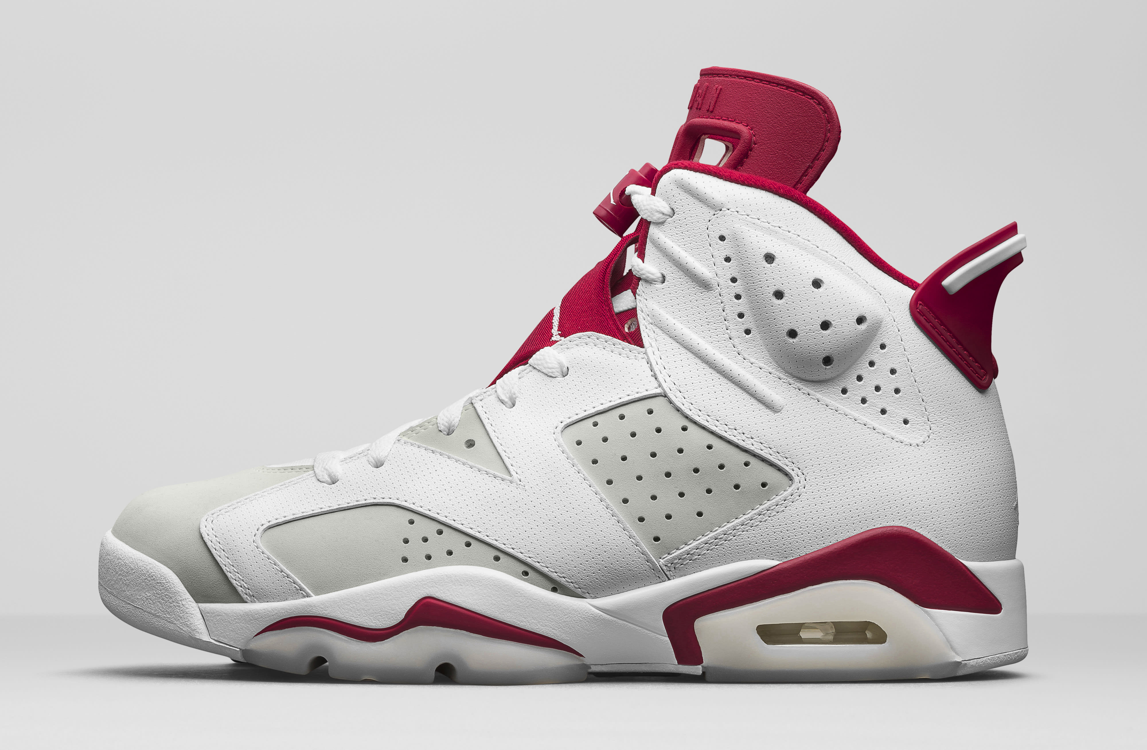 Alternate Air Jordan 6 384664-113 Lateral