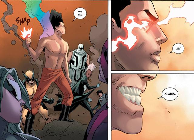 Legion and the X-Men