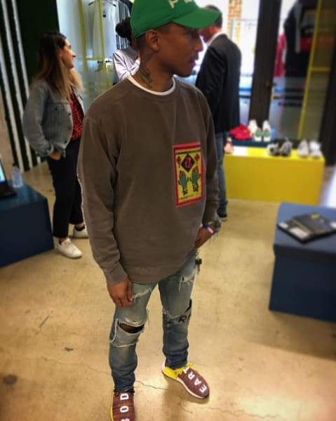 "Pharrell Williams Adidas Human Race NMD ""Body Earth"""