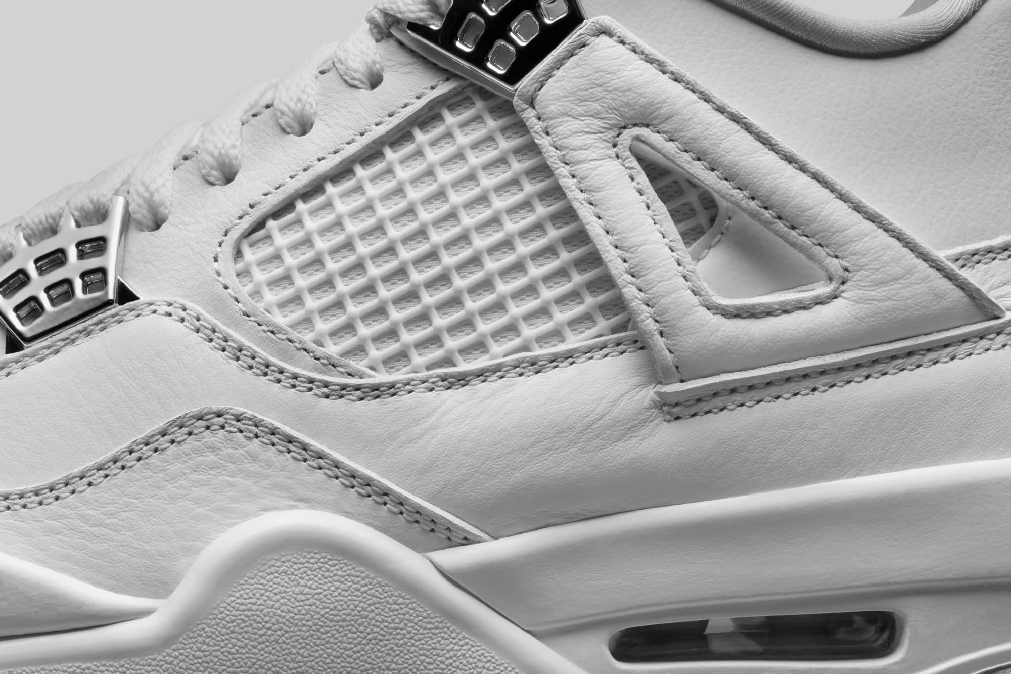 Air Jordan 4 Pure Money Detail