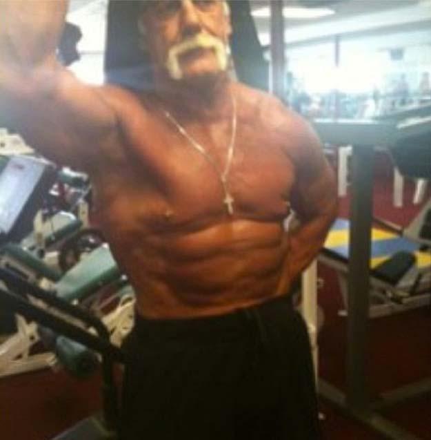 Nick Hogan 2013 Wrestling How to Flex According ...