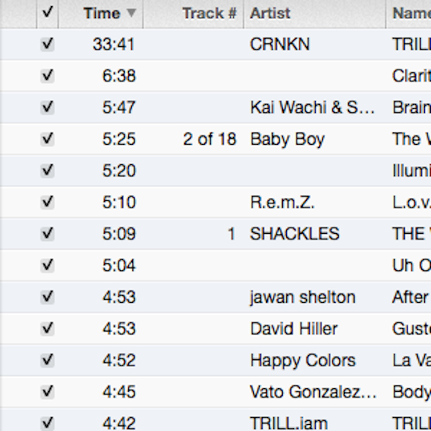 organize playlists by time A Guide to How DJs Should Organize Files