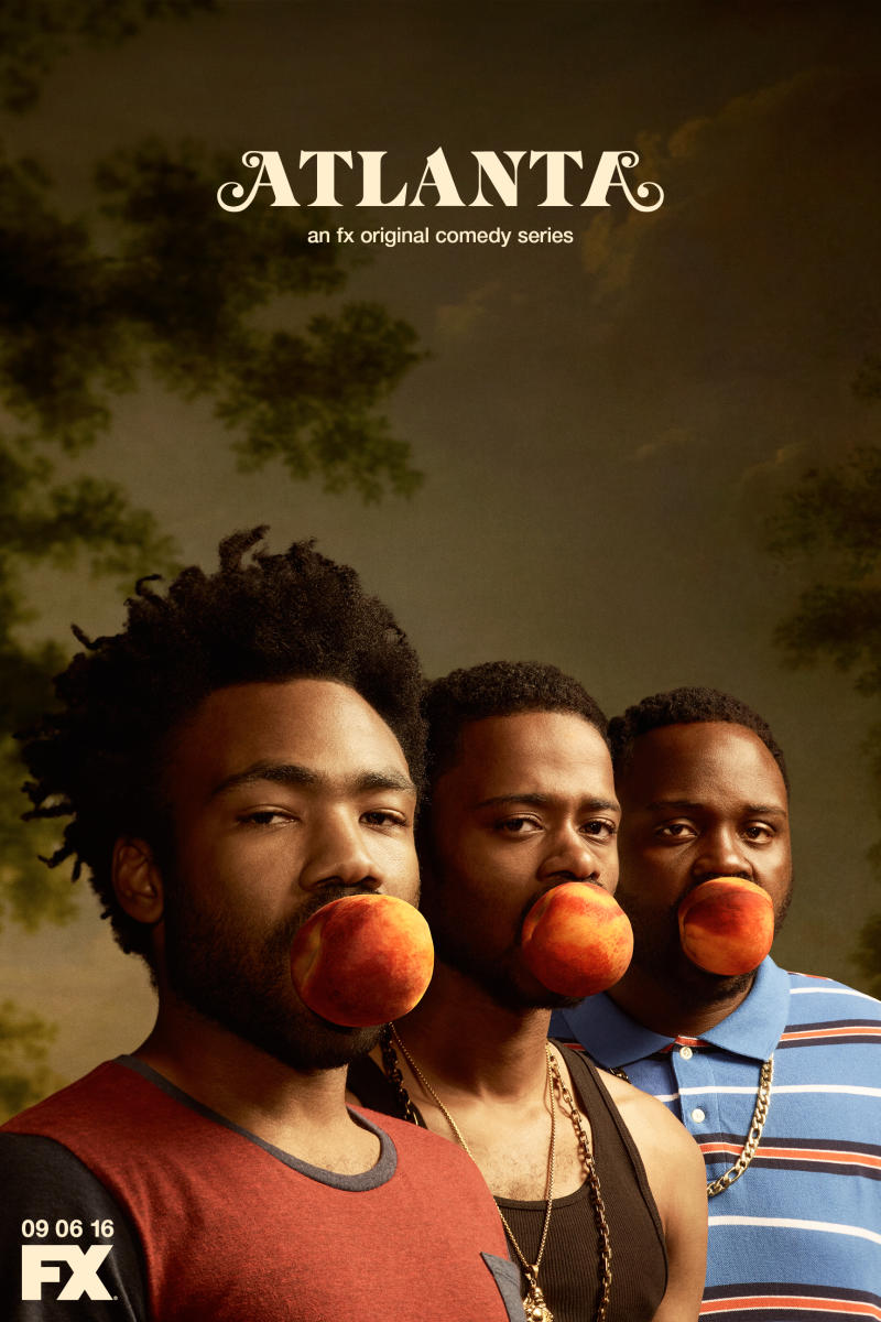 Here's a peach-themed poster for Donald Glover's 'Atlanta.'