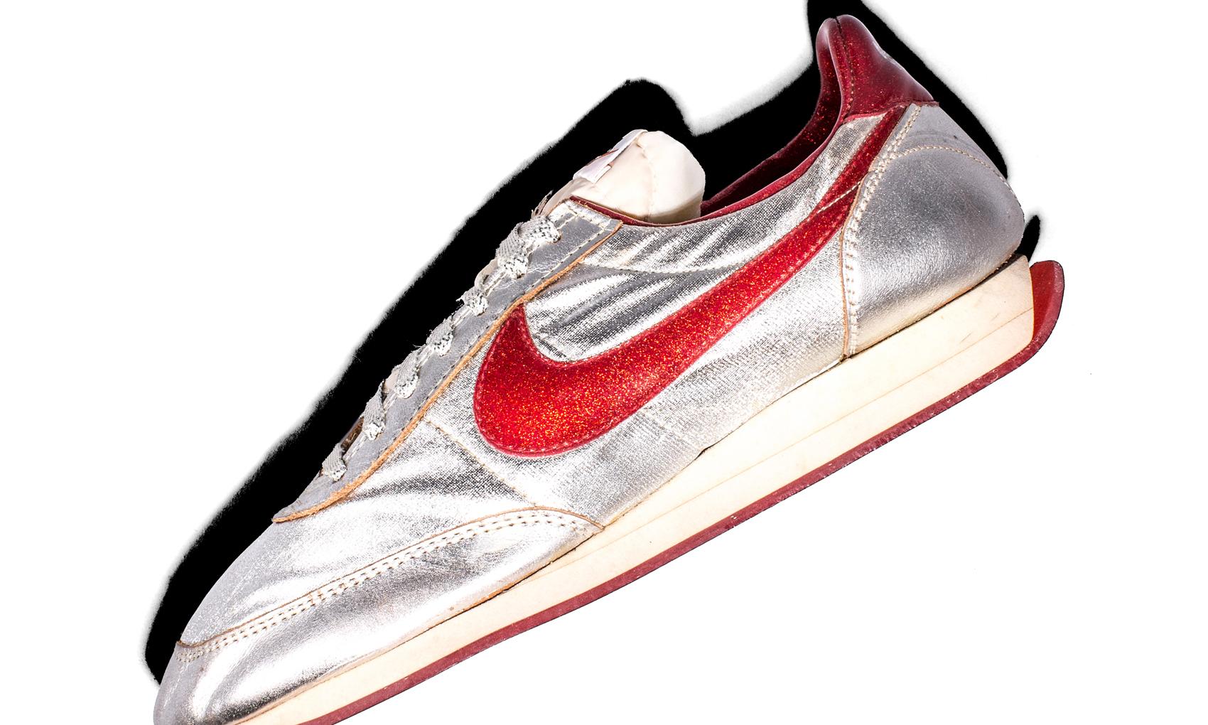 Nike Night Track Disco Sneakers Profile