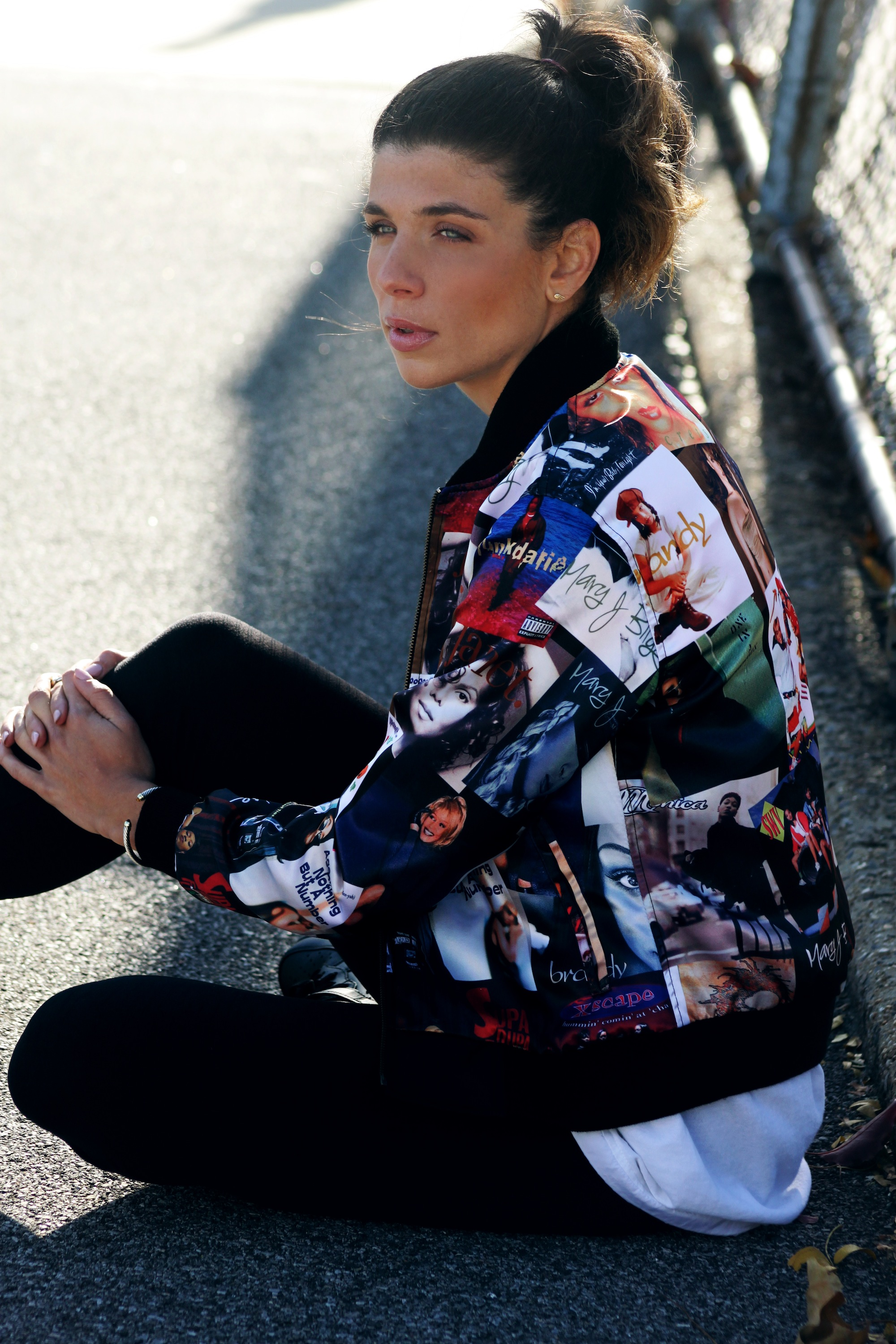 Kinship's New Bomber Jacket Features the Best Female Hip ... 90s Print