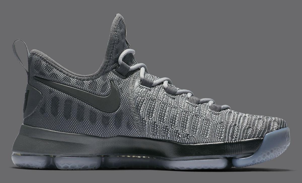 Nike KD 9 Battle Grey 843392-002   Sole