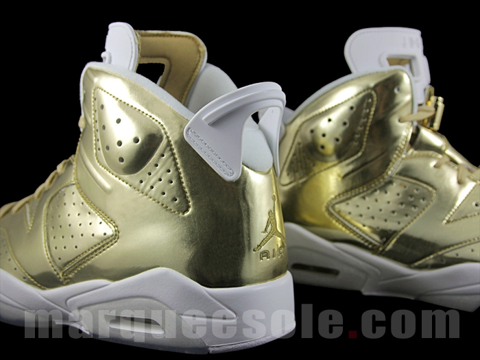 online store 5f615 b5666 Gold Air Jordan 6 Pinnacle Release Date | Sole Collector
