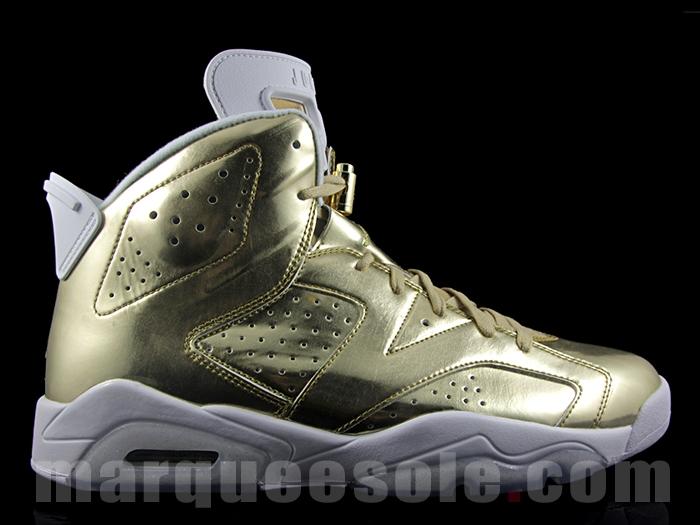 online store 56eaf 9e635 Gold Air Jordan 6 Pinnacle Release Date | Sole Collector