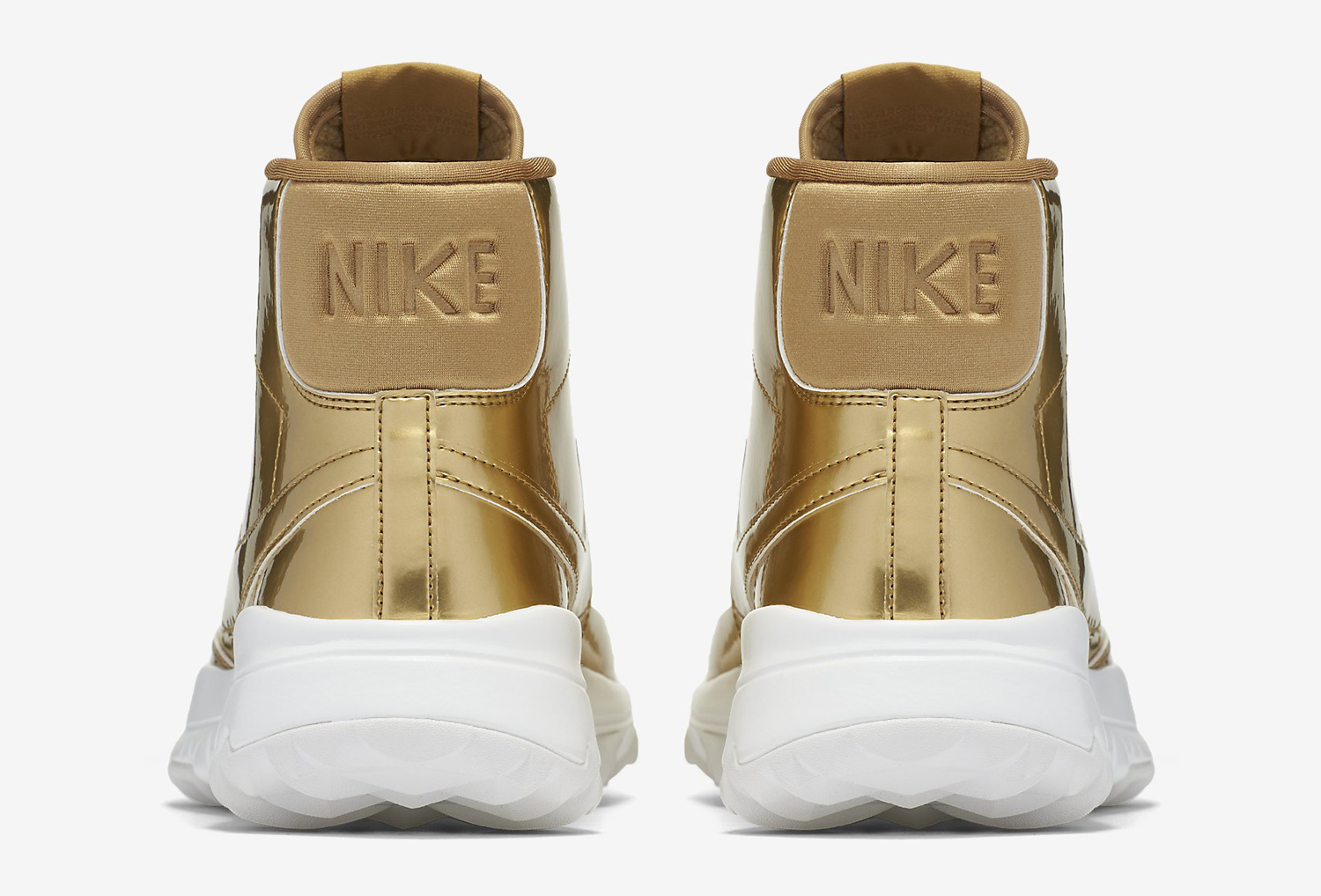 nike golf shoes gold