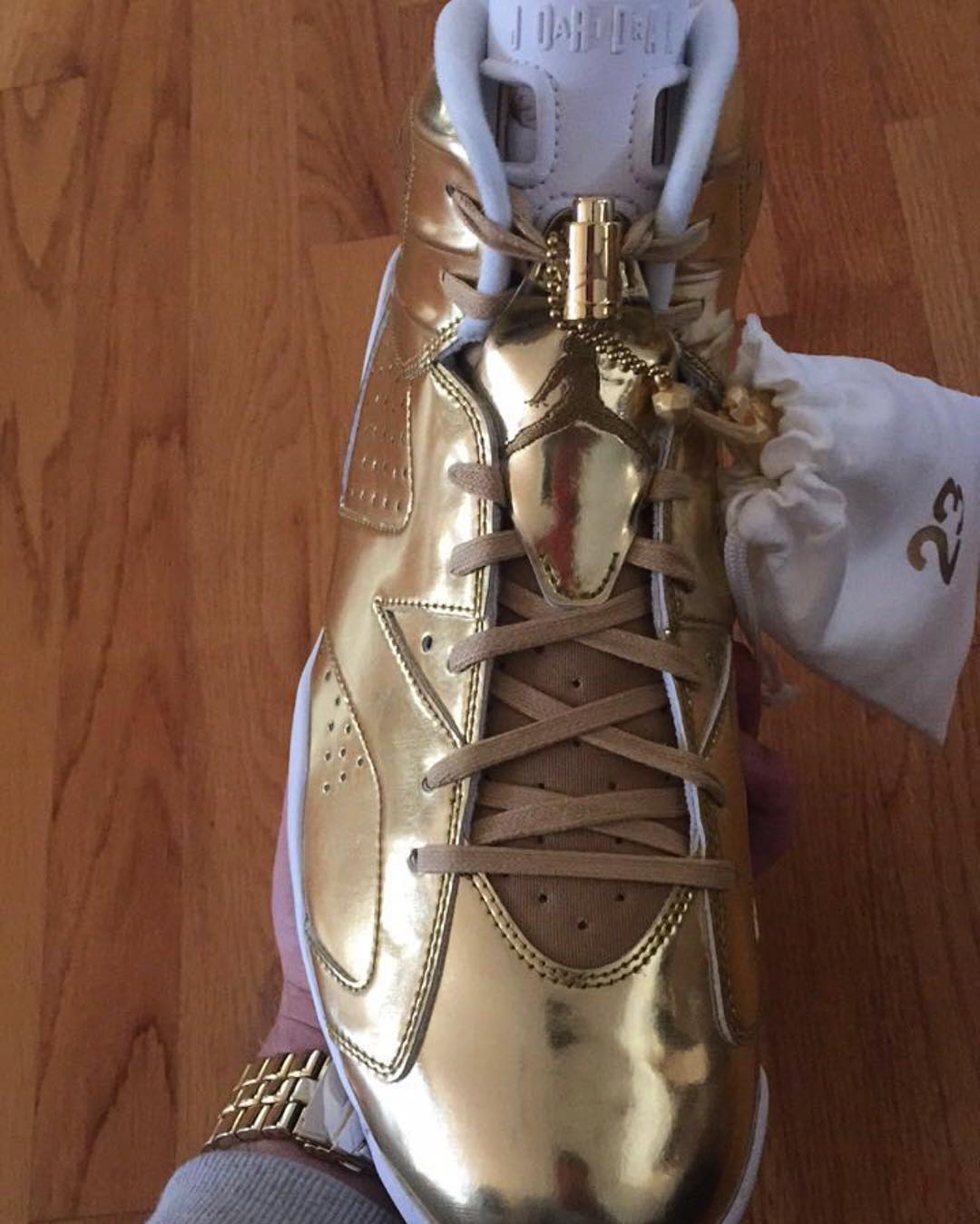 online store 6d487 43e42 Gold Air Jordan 6 Pinnacle Release Date | Sole Collector