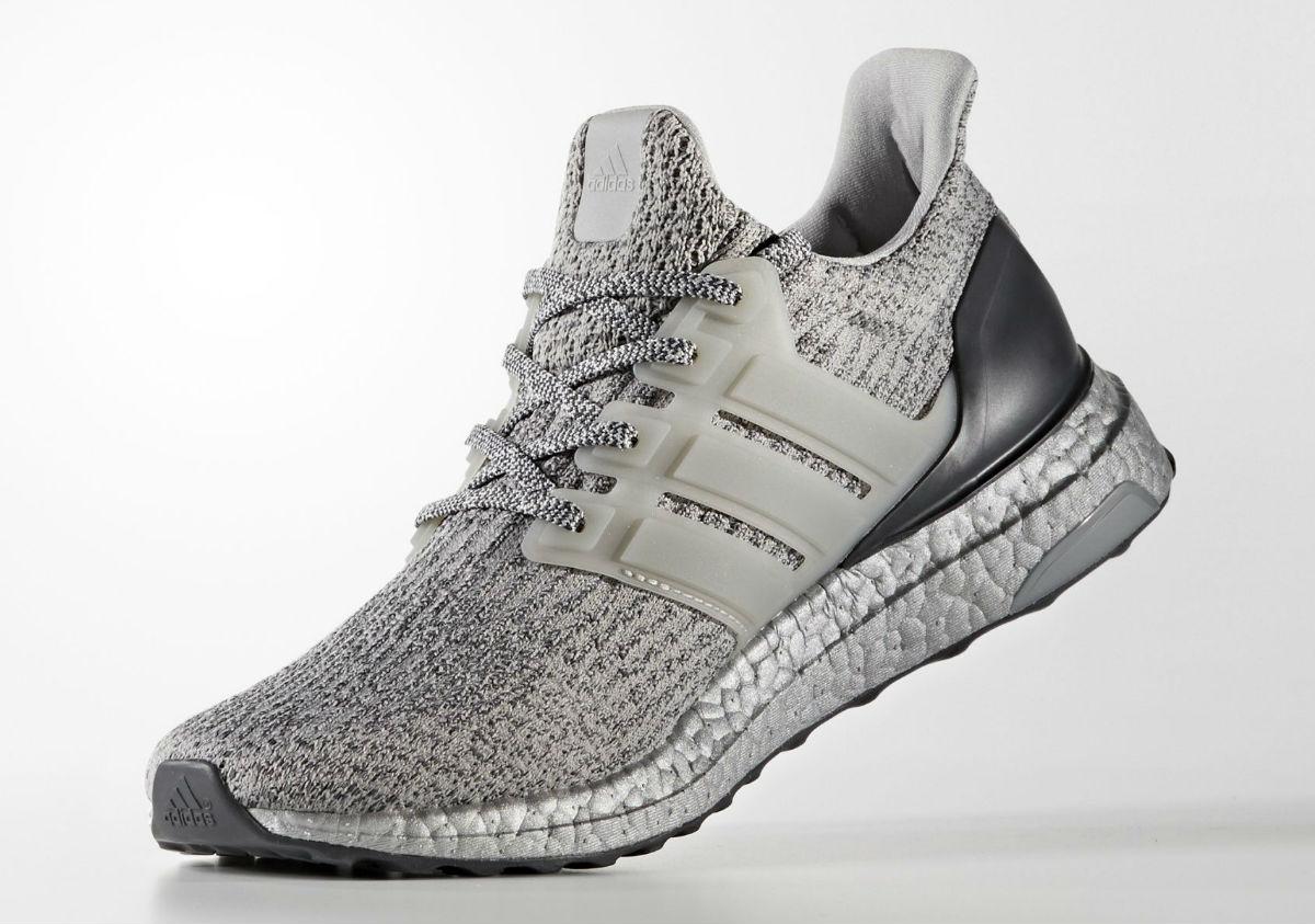 Adidas Ultra Boost 3.0 Silver Medial BA8143
