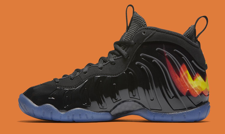 Size On Foamposite Shoe