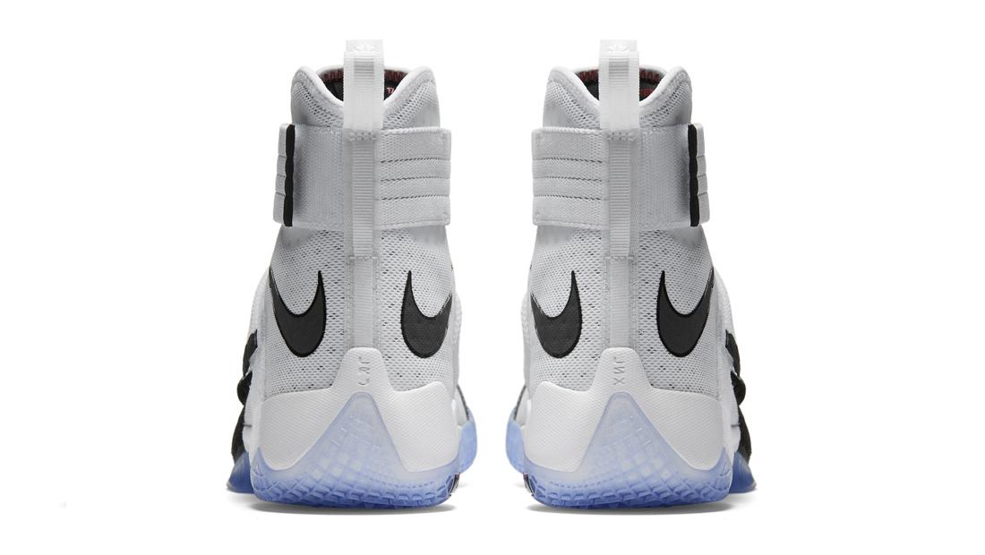 hot sale online 1db51 7542c Nike Zoom LeBron Soldier 10 Black Toe 844378-102 | Sole ...