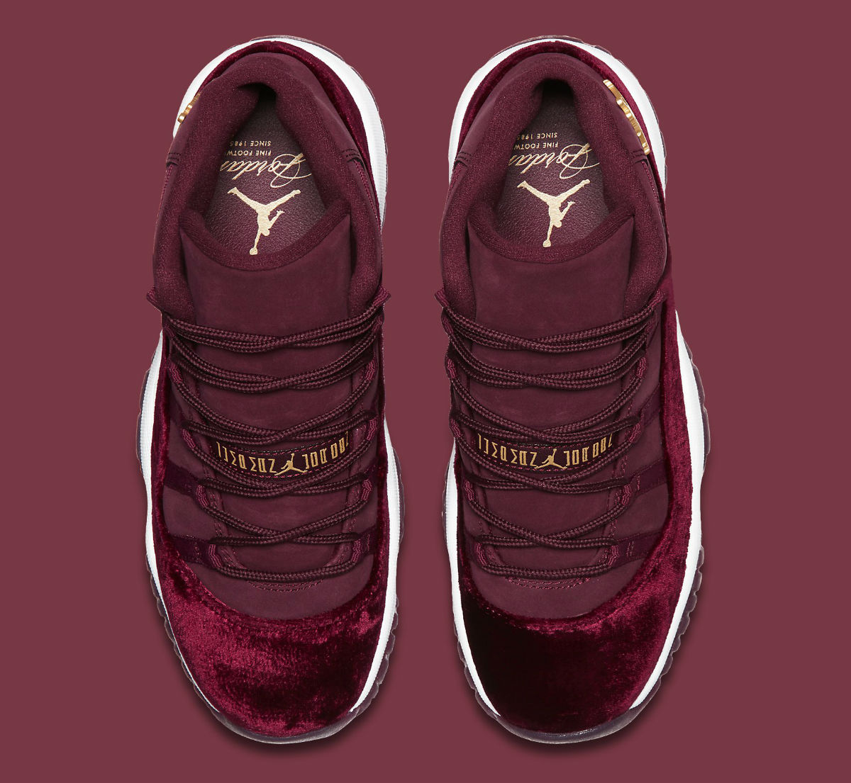 ce4ca4c1263 Air Jordan 11 GG Red Velvet Heiress Release Date Top 852625-650